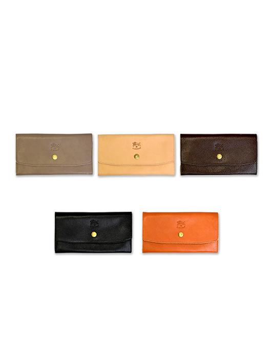 イルビゾンテ【長財布(ボタン)】 全5色。2017SS新作アイテム