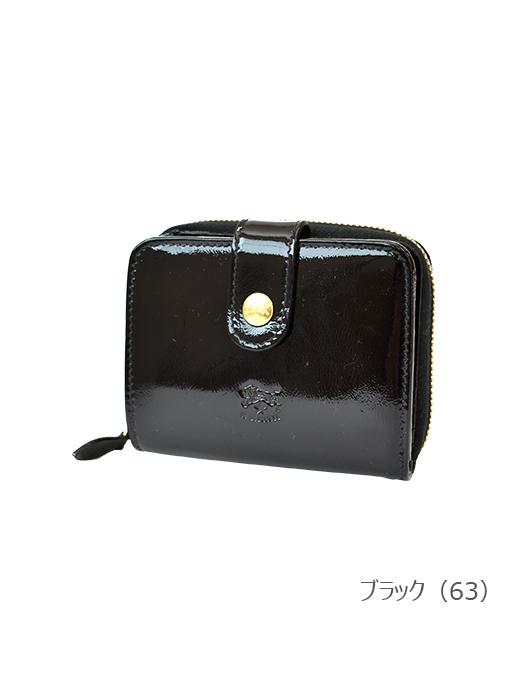 IL BISONTE イルビゾンテ【54182305840 折財布】ブラック
