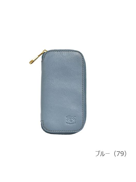 イルビゾンテ【キーケース 54192309190】 ブルー