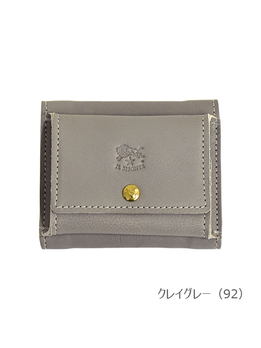 IL BISONTE イルビゾンテ【折財布 54202312240】 クレイグレー