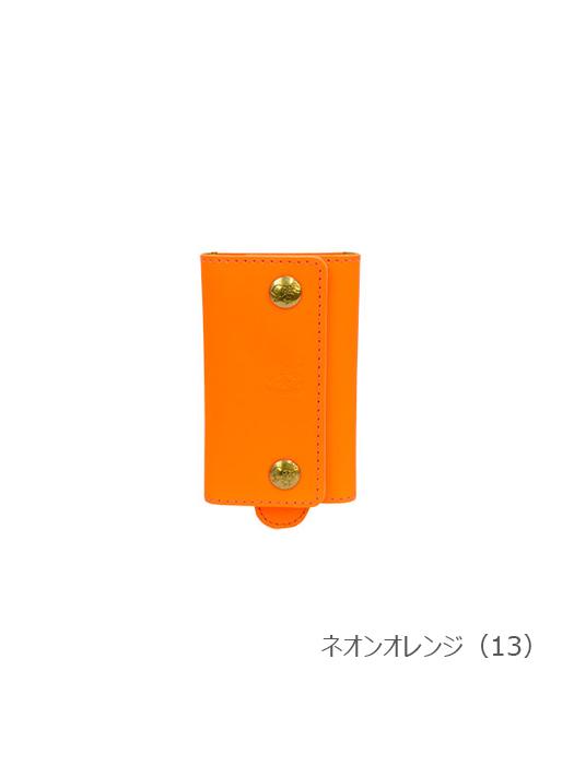 IL BISONTE イルビゾンテ【キーケース 54212304590】 ネオンオレンジ