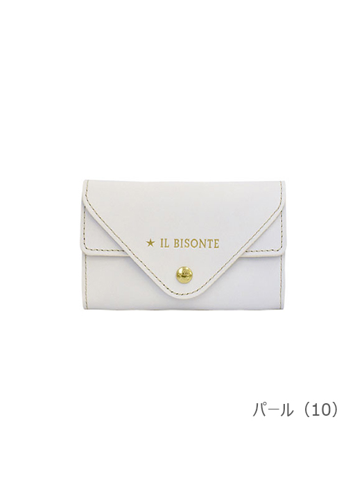 IL BISONTE イルビゾンテ【カードケース 54212304593】 パール