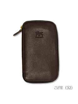 イルビゾンテ【長財布(ボタン)】こげ茶
