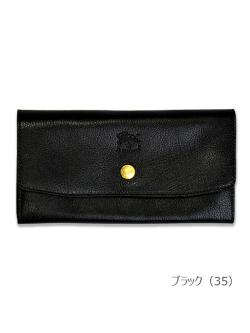 イルビゾンテ【長財布(ボタン)】ブラック