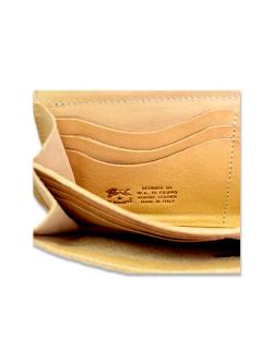 イルビゾンテ【長財布(ボタン)】お札入れロゴ
