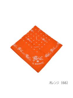 イルビゾンテ【バンダナ(星) 5432404194】オレンジ