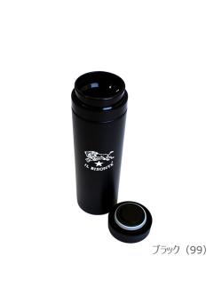 イルビゾンテ【ステンレスボトル】ブラック ボトル&フタ