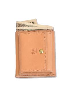イルビゾンテ【折財布】三つ折りの状態
