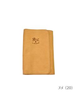 IL BISONTE イルビゾンテ【手帳 410961】ヌメ