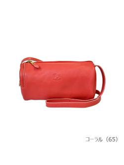 IL BISONTE イルビゾンテ【ショルダーバッグ(Color Leather) 54182302111】コーラル