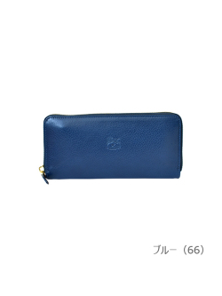IL BISONTE イルビゾンテ【54182304440 長財布(Color Leather)】ブルー