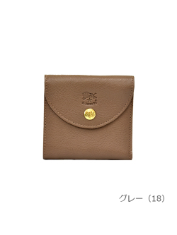 IL BISONTE イルビゾンテ【折財布 54182309240】グレー