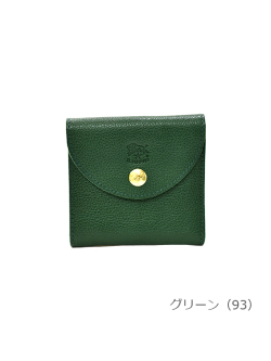 IL BISONTE イルビゾンテ【折財布 54182309240】グリーン