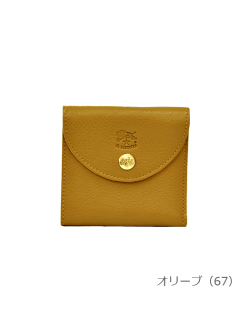 IL BISONTE イルビゾンテ【折財布 54182309240】オリーブ