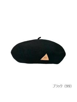 IL BISONTE イルビゾンテ【ベレー帽 54182309283】ブラック