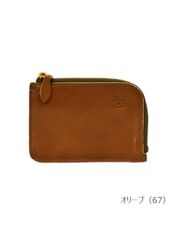 IL BISONTE イルビゾンテ【折財布 5432404540】オリーブ