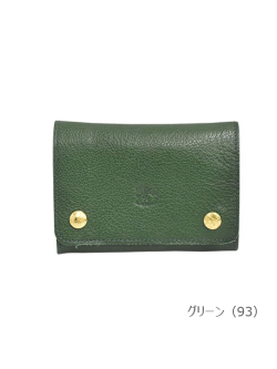 IL BISONTE イルビゾンテ【折財布 54162304940】グリーン