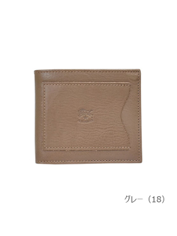 IL BISONTE イルビゾンテ【折財布 54192304540】 グレー