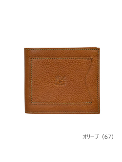 IL BISONTE イルビゾンテ【折財布 54192304540】 オリーブ