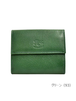 IL BISONTE イルビゾンテ【5472300840 折財布】 グリーン