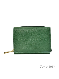 IL BISONTE イルビゾンテ【折財布 54192310140】 グリーン