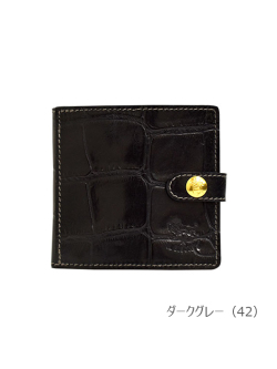 IL BISONTE イルビゾンテ【折財布 5402305840】 ダークグレー