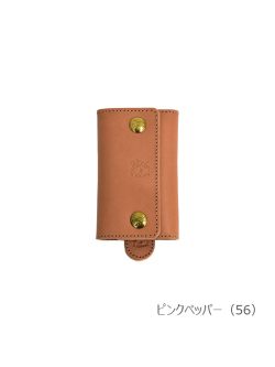 IL BISONTE イルビゾンテ【キーケース 54202309390】 ピンクペッパー