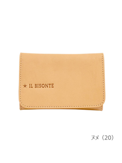 IL BISONTE イルビゾンテ【カードケース 54212304493】 ヌメ