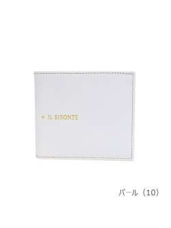IL BISONTE イルビゾンテ【折財布 54212307340】 パール