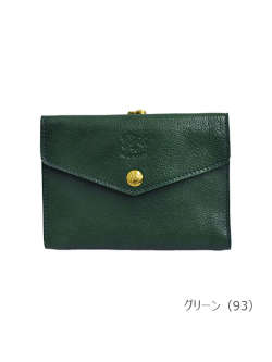 IL BISONTE イルビゾンテ【折財布 54212309540】 グリーン