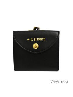 IL BISONTE イルビゾンテ【折財布 54212311240】 ブラック