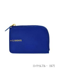 IL BISONTE イルビゾンテ【折財布 54212311440】 ロイヤルブルー