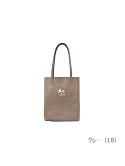 IL BISONTE イルビゾンテ【トートバッグ 54212309114】 グレー